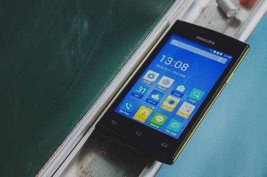 Philips bán ra thị trường smartphone giá cực rẻ - 1
