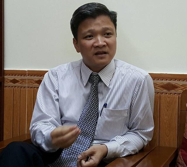 Ông Nguyễn Minh Lợi, Phó Cục trưởng Cục khoa học công nghệ và Đào tạo (Bộ Y tế). Ảnh: H.Hải