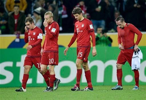 Ribery khẳng định Bayern xứng đáng nhận thất bại