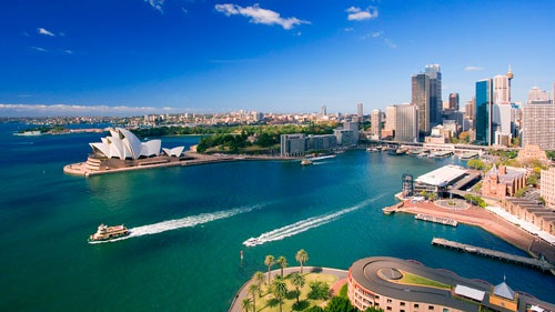 Nước Úc xinh đẹp với nền kinh tế năng động