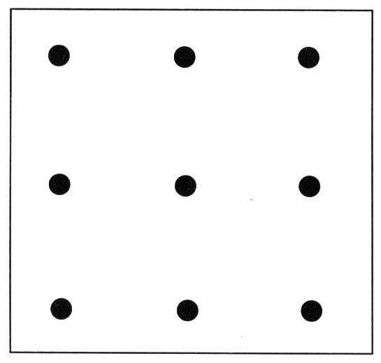 Thử tài tư duy với câu đố 9 chấm - 1