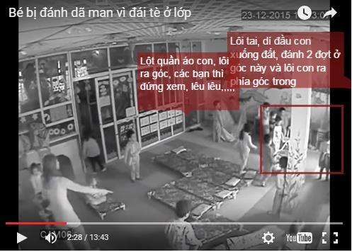 Hà Nội: Phẫn nộ bé trai 3 tuổi bị kéo tai, lột quần áo vì tè dầm - 1