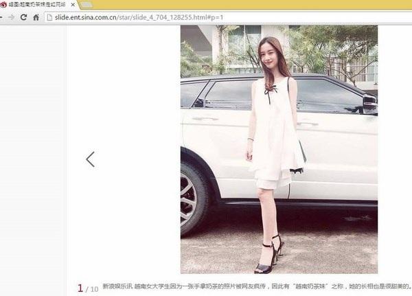 """9X xinh đẹp được báo Trung Quốc mệnh danh """"cô gái trà sữa Việt"""" - 2"""