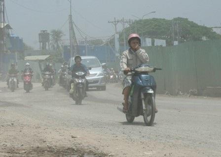 Khói xe, tác nhân chính gây ô nhiễm ô xit cacbon