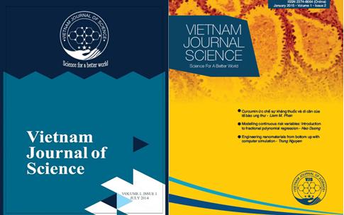 Một số của tạp chí Vietnam Journal of Science.