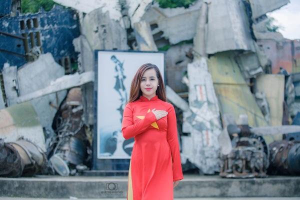 Nữ sinh Hà thành rạng rỡ trong tà áo dài cờ đỏ sao vàng - 5