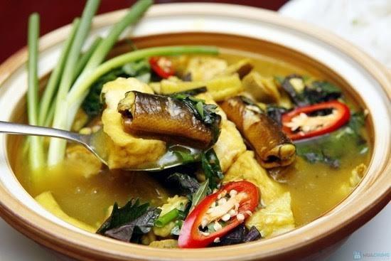 Lươn om chuối đậu - Một món ăn đặc sản xứ Nghệ