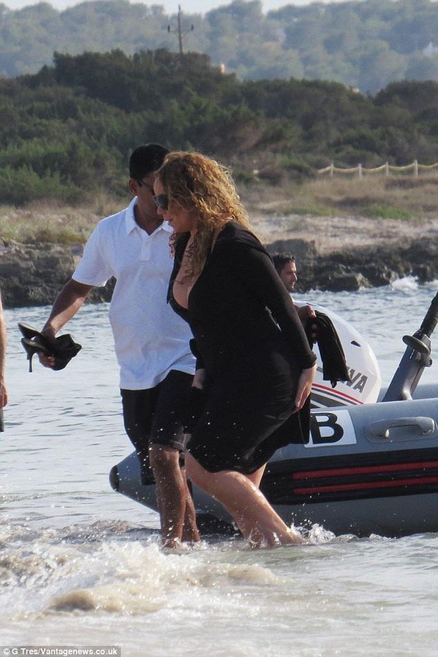 Mariah Carey tái ngộ bồ tỷ phú - 4