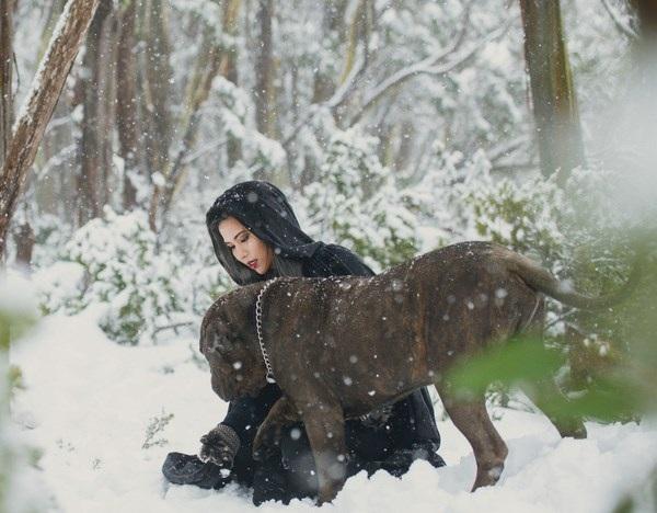 """Cuốn hút bộ ảnh """"ma sói trên núi tuyết"""" của nữ DHS Việt - 10"""