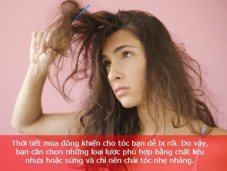 Bí quyết chăm sóc tóc vào mùa đông - 10