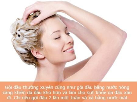 Bí quyết chăm sóc tóc vào mùa đông - 3