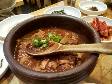 Sup xác khô có mùi rất khó chịu do được làm từ đậu nành lên men (Ảnh: Internet)