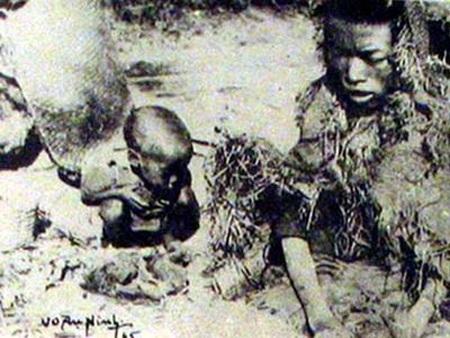 Nạn đói năm 1945 đã diễn ra vô cùng khốc liệt