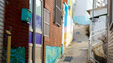 """Ngôi làng """"sáng tác tranh"""" đặc biệt ở Hàn Quốc - 5"""