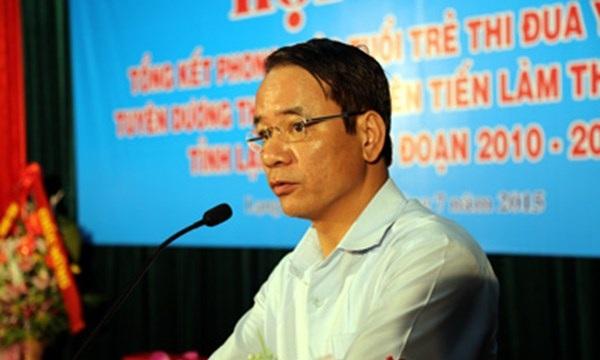 Ông Nguyễn Văn Thanh (ảnh: Báo Lạng Sơn)