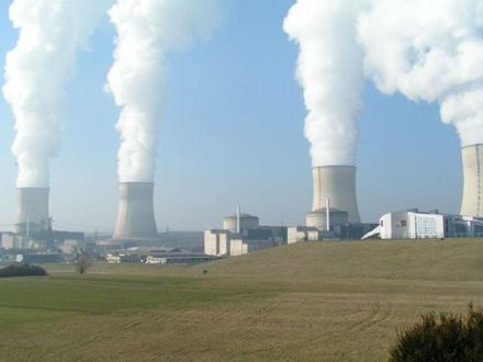 Nhà máy điện hạt nhân (ảnh minh hoạ).