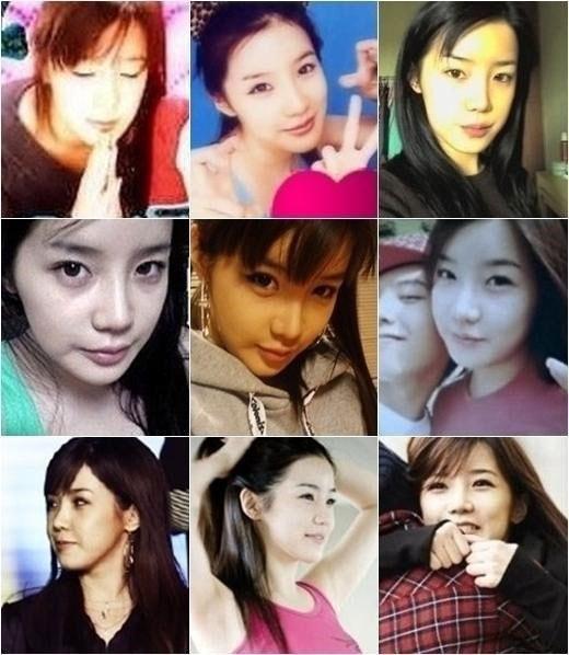 Những bức ảnh thời quá khứ của Park Bom - thành viên nhóm 2NE1