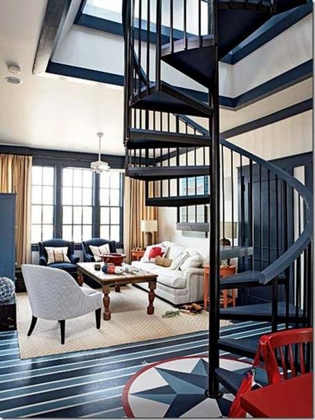 Những mẫu cầu thang xoắn ốc đẹp cho ngôi nhà có diện tích khiêm tốn - 3