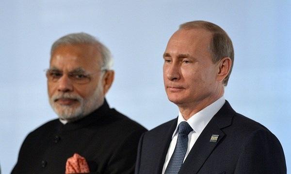 Tổng thống Putin của Nga và Thủ tướng Ấn Độ Narendra Modi. ẢNh nguồn Business Insider