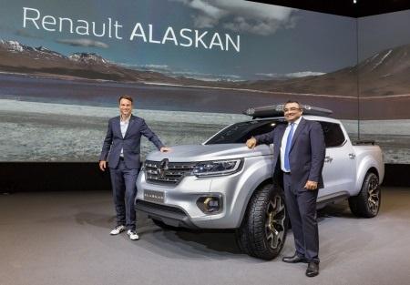 Chiếc Renault Alaskan