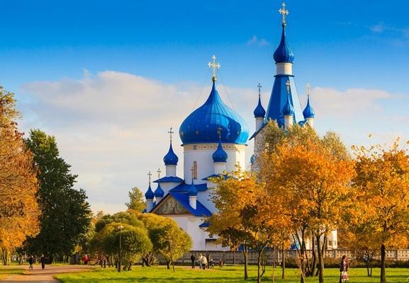 Đắm say trong sắc vàng mùa thu cổ tích nước Nga - 6