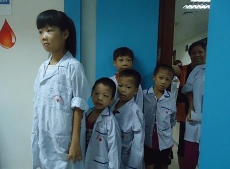 Nhiều trẻ nhỏ bị mắc căn bệnh tan máu bẩm sinh do cả bố và mẹ không biết mình mang gien gây bệnh