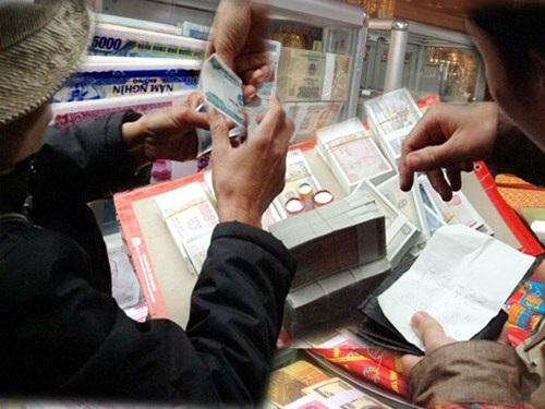 Dịch vụ đổi tiền lẻ nóng dần dịp cuối năm (ảnh minh hoạ)