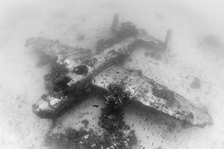 Cận cảnh nghĩa địa máy bay dưới đáy Thái Bình Dương - 1
