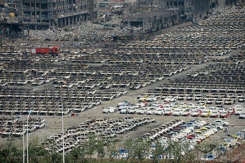 """Thiên Tân trước và sau các vụ nổ """"long trời"""" - 13"""