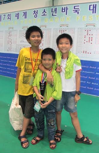 Gia đình 3 anh em cờ vây: Võ Nhật Minh, Võ Duy Minh, Võ Hà Đức Minh