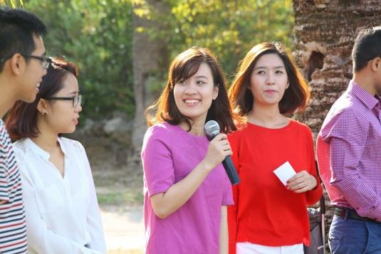 Trang hiện đang là phó chủ tịch Hội sinh viên Việt Nam tại Nice.