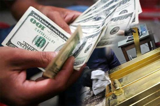 USD chạm trần, vàng tiếp tục tăng giá (ảnh minh hoạ)