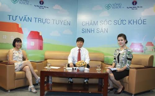 Một chương trình tư vấn trực tiếp về sức khỏe sinh sản của SongKhoe.vn