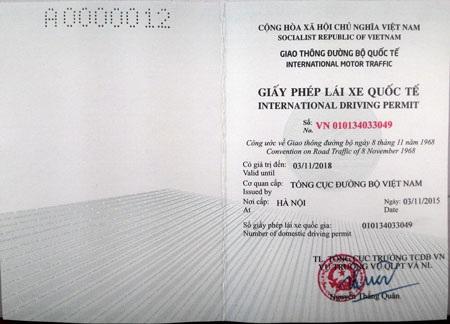Xem quy trình cấp GPLX quốc tế lưu hành trên 85 nước - 9