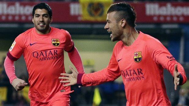 Neymar và Suarez sẽ đối đầu ở hai bên chiến tuyến