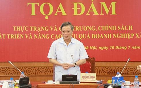 Phó trưởng Ban Kinh tế Trung ương Đinh Văn Cương (Ảnh: Ban Kinh tế Trung ương)