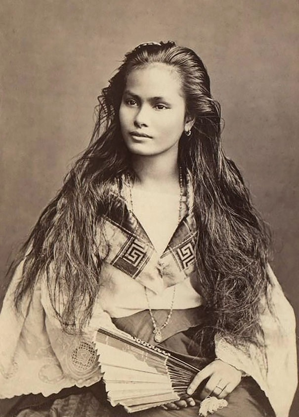 Một cô gái đẹp người Philipin