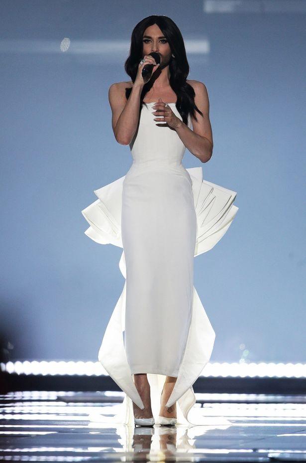 Conchita Wurst được xem là của lạ của làng giải trí thế giới.