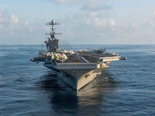 Tàu sân bay John C. Stennis đã tuần tra Biển Đông trong gần 3 tháng (Ảnh: Hải quân Mỹ)