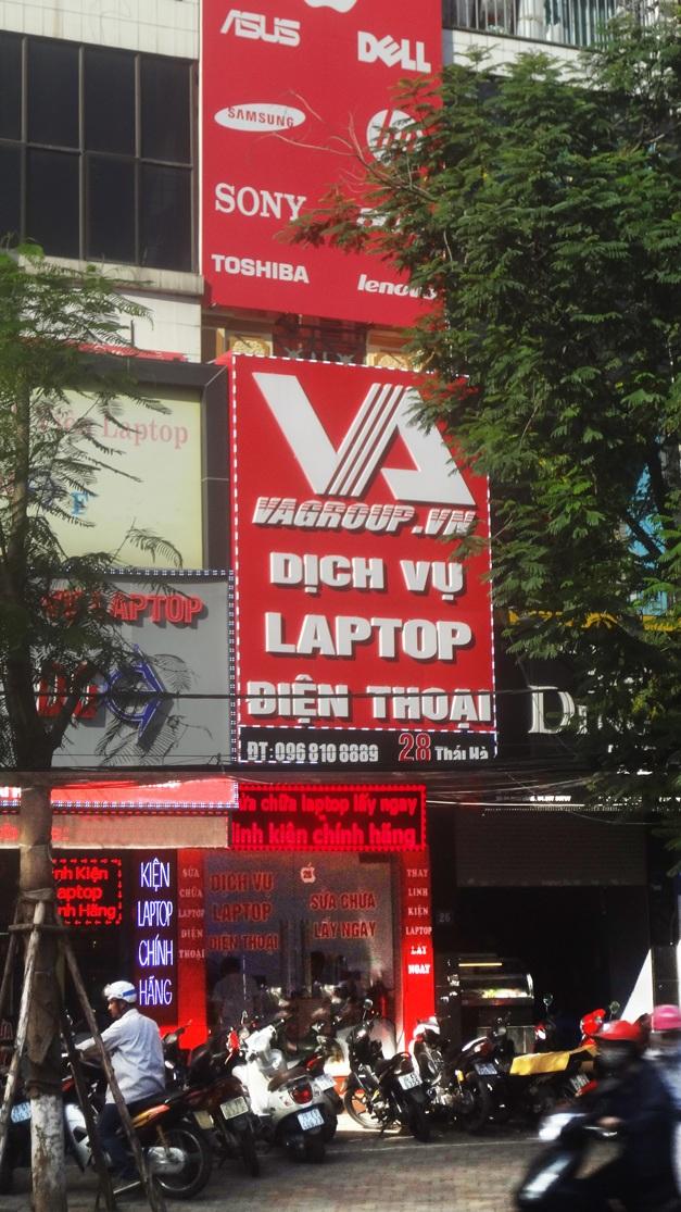 VAGROUP - Địa chỉ sửa laptop uy tín tại Hà Nội - 1