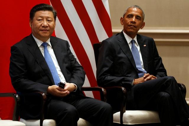 Tổng thống Obama và Chủ tịch Tập Cận Bình tại Hàng Châu, Trung Quốc (Ảnh: Reuters)