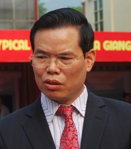 Ông Triệu Tài Vinh - Bí thư Tỉnh ủy Hà Giang (Ảnh: Quochoi.vn)