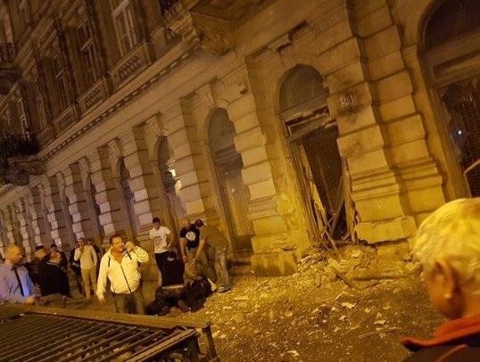 Nổ lớn rung chuyển thủ đô của Hungary, 2 người bị thương - 2