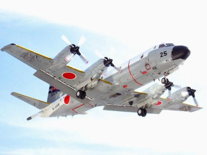 Máy bay do thám, chống ngầm P-3C Orion.