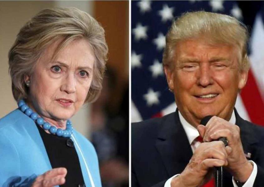 Hillary Clinton, Donald Trump, ứng cử viên, Tổng thống Mỹ