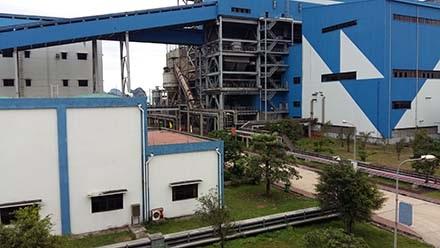 Nhà máy có công nghệ, thiết bị Trung Quốc và do nhà thầu Trung Quốc thi công.
