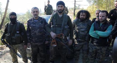 Nhóm vũ trang Turkmen dưới quyền của Alparslan Celik
