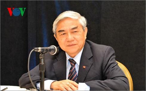 Bộ trưởng Khoa học và Công nghệ Nguyễn Quân phát biểu tại Hội thảo.