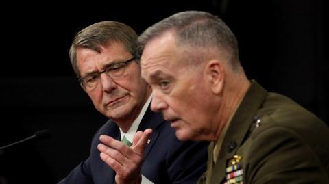 Chủ tịch Hội đồng Tham mưu trưởng Liên quân Mỹ, Tướng Joseph Dunford.