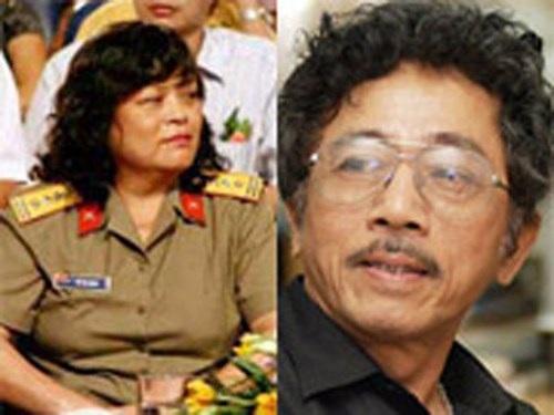 Nhà văn Chu Lai và vợ-nhà văn Vũ Thị Hồng